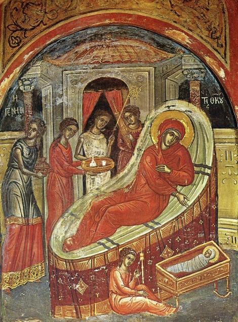 1. Zamislirea Sfintei Fecioare Maria de catre Sf Ana 2.2 Man Stavronichita