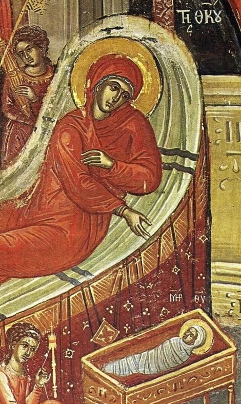 1. Zamislirea Sfintei Fecioare Maria de catre Sf Ana 2.3 Man Stavronichita