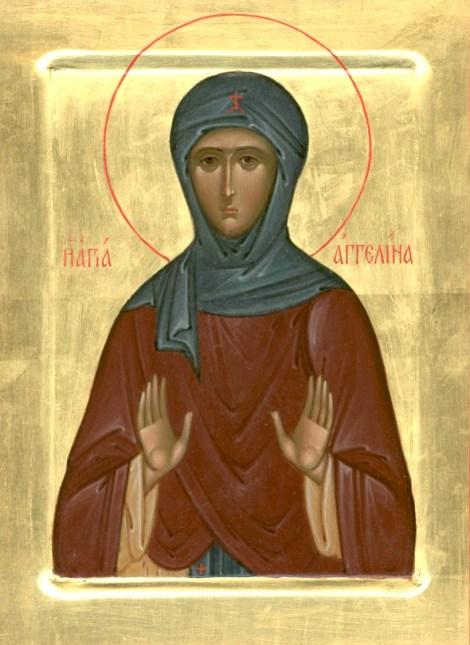 2. Sf Cuv Anghelina, sotia lui Stefan, despotul Serbiei 1.1