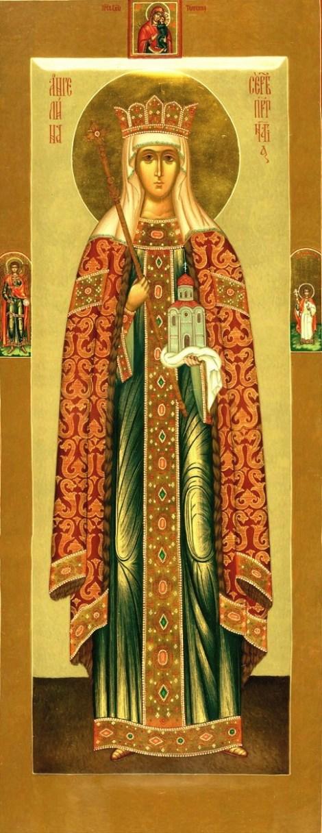 2. Sf Cuv Anghelina, sotia lui Stefan, despotul Serbiei 11.1