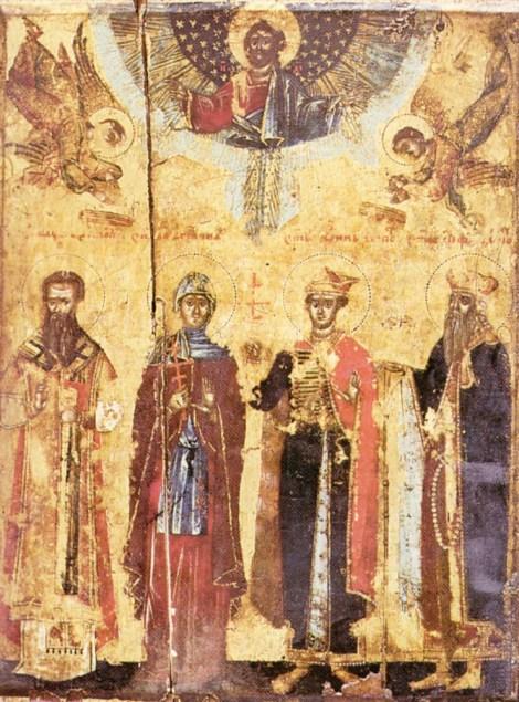 2. Sf Cuv Anghelina, sotia lui Stefan, despotul Serbiei 13.1