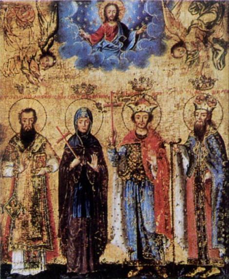 2. Sf Cuv Anghelina, sotia lui Stefan, despotul Serbiei 6