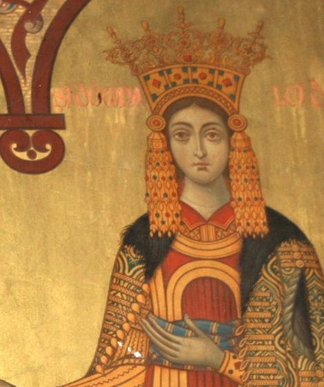 Milita Despina, sotia Sf Neagoe Basarab 1