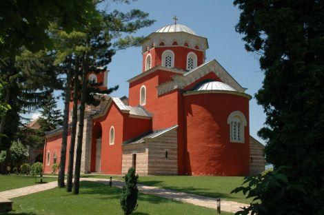 Mănăstirea  Zica, Serbia 1