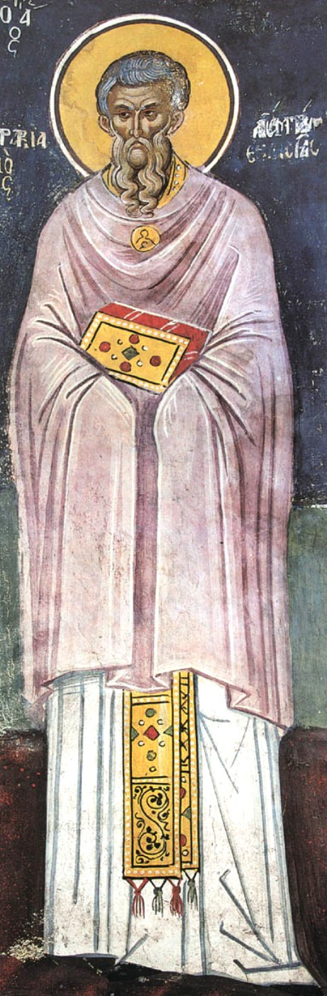 Sf Cuv Marchian, peotul si iconomul Bisericii din Constantinopol, Turcia 1.1