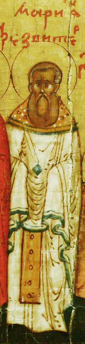 Sf Cuv Marchian, peotul si iconomul Bisericii din Constantinopol, Turcia 2