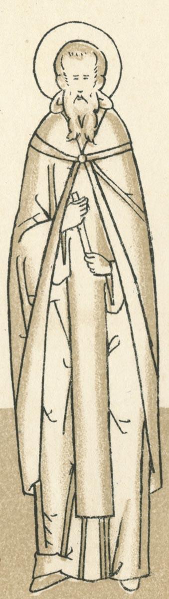 Sf Cuv Marchian, peotul si iconomul Bisericii din Constantinopol, Turcia 3