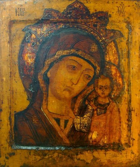 Sf Ier Ermoghen, patriarhul Moscovei 15.1 Icoana Maicii Domnului din Kazan - Kaplunovskaia