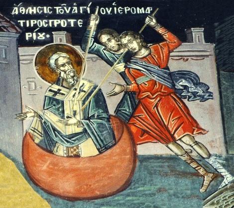 Sf Sf Mc Proterie, patriarhul Alexandriei 1.1