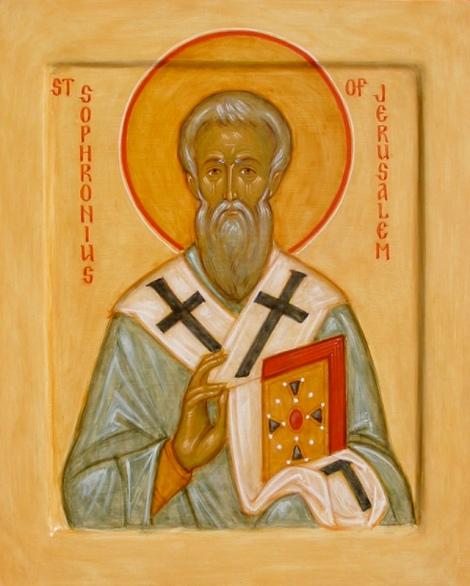 Sf Ier Sofronie, patriarhul Ierusalimului 5
