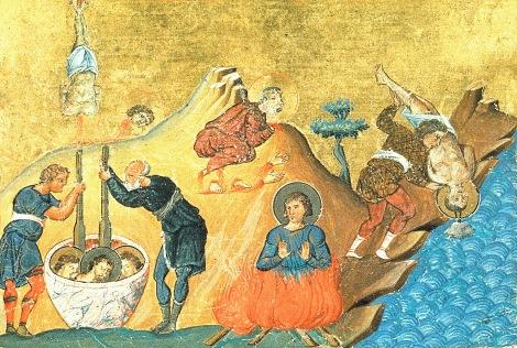 Sf Mc Codrat din Corint si cei cu dansul, Ciprian, Dionisie, Pavel, Anecton şi Crescent, Grecia 1.1