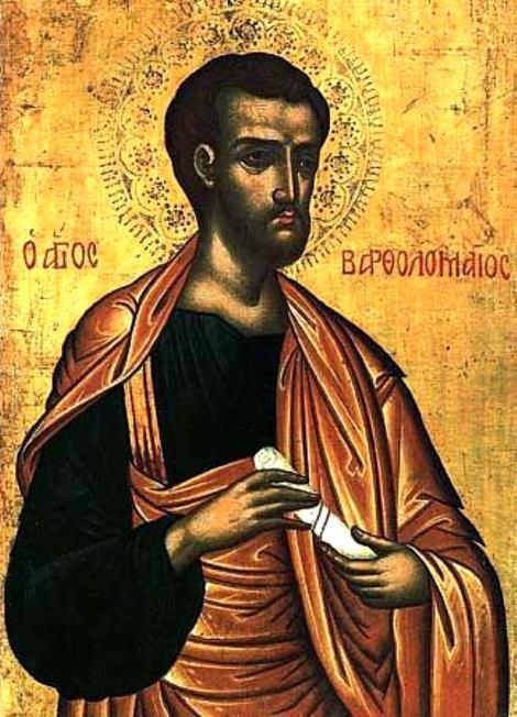 1. Aducerea moastelor Sf Ap Bartolomeu de la Anastasiopolis la Lipari (580) 1