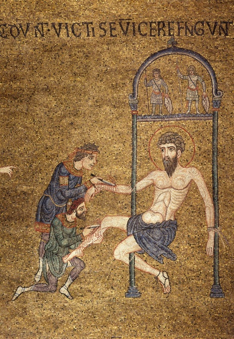 1. Aducerea moastelor Sf Ap Bartolomeu de la Anastasiopolis la Lipari (580) 10
