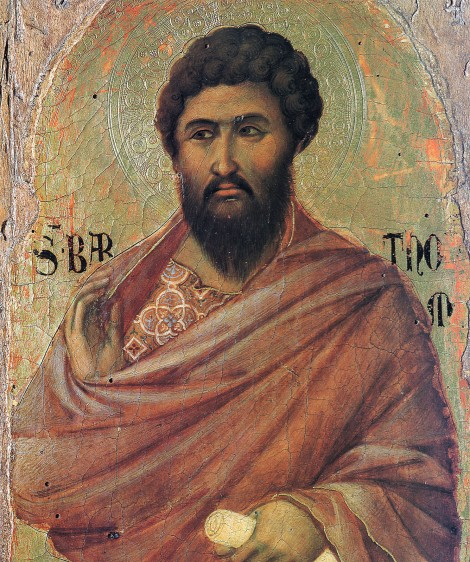 1. Aducerea moastelor Sf Ap Bartolomeu de la Anastasiopolis la Lipari (580) 2