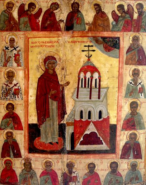 1. Punerea in racla a braului Maicii Domnului la Constantinopol (530) 7.1
