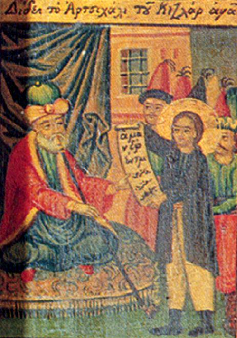 10. Sf Nou Mc Apostol din satul Aghios Lavrentios care a marturisit la Constatinopol (1686) 3.1