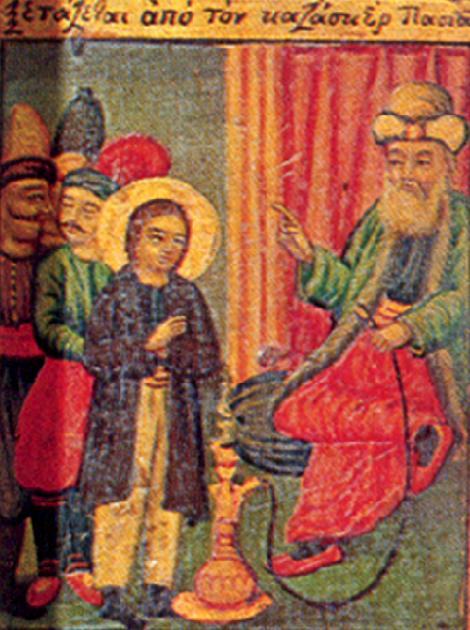 10. Sf Nou Mc Apostol din satul Aghios Lavrentios care a marturisit la Constatinopol (1686) 4.1