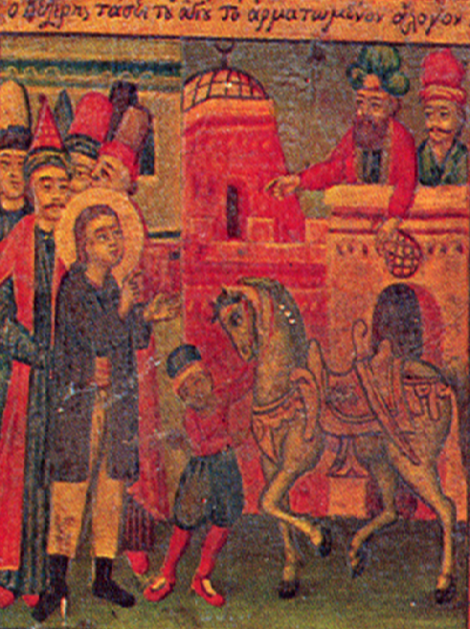10. Sf Nou Mc Apostol din satul Aghios Lavrentios care a marturisit la Constatinopol (1686) 5.1