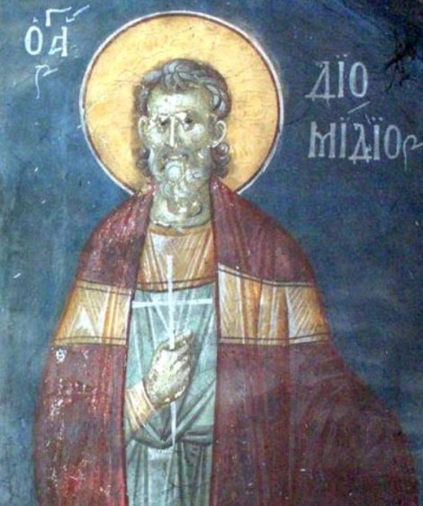 11. Sf Mc Diomid, doctor in Tarsul Siciliei, Nicomidia (298) 3.2