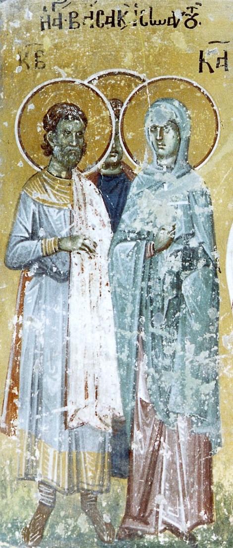 2. Sf Mc Vasa si copiii ei Teognie, Agapie si Pist (sec III) 11