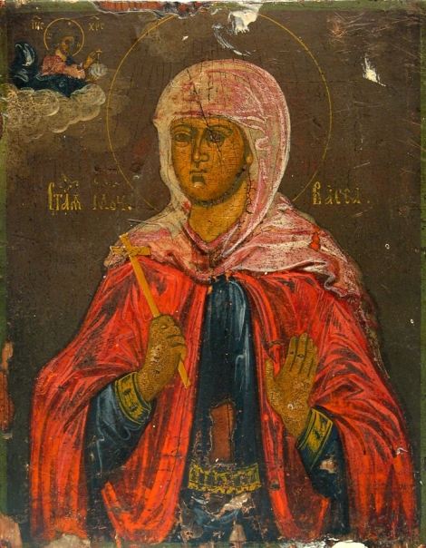 2. Sf Mc Vasa si copiii ei Teognie, Agapie si Pist (sec III) 2.1