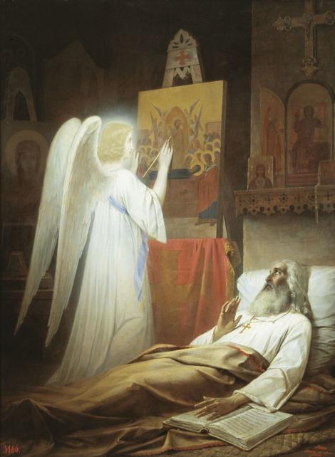 3. Cuv Alipie, iconarul de la Lavra Pesterilor din Kiev (1114) 12