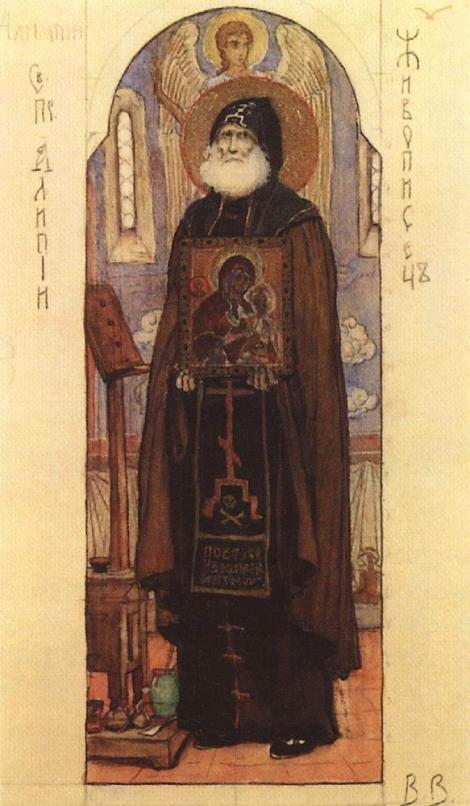 3. Cuv Alipie, iconarul de la Lavra Pesterilor din Kiev (1114) 17.1