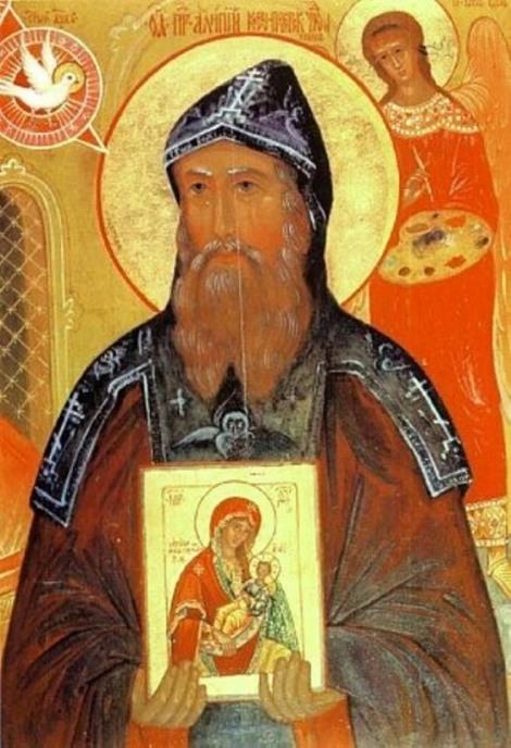 3. Cuv Alipie, iconarul de la Lavra Pesterilor din Kiev (1114) 4