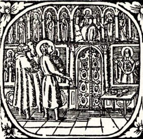 3. Cuv Alipie, iconarul de la Lavra Pesterilor din Kiev (1114) 8.1
