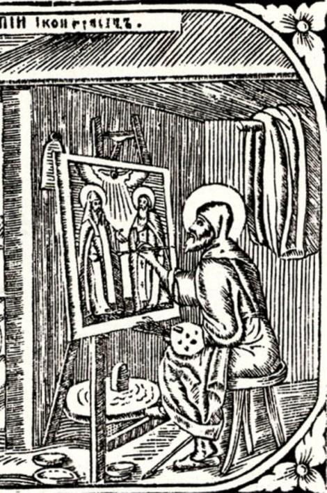 3. Cuv Alipie, iconarul de la Lavra Pesterilor din Kiev (1114) 8.2