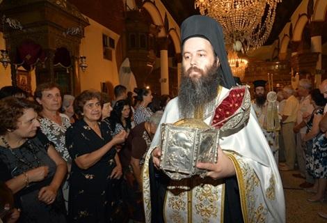 4. Sf Cuv Teofan cel Nou, sihastru in Muntele Nausa din Macedonia (sec XVI) 2 moastele sale