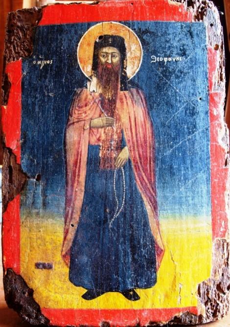 4. Sf Cuv Teofan cel Nou, sihastru in Muntele Nausa din Macedonia (sec XVI) 6