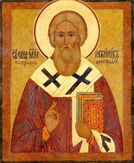 6. Sf Ier Calinic, patriarhul Constantinopolului (705) 2