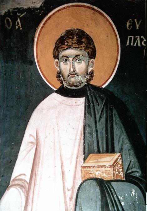6. Sf Mare Mc Evplu, arhidiaconul din Catania, Italia (304) 1