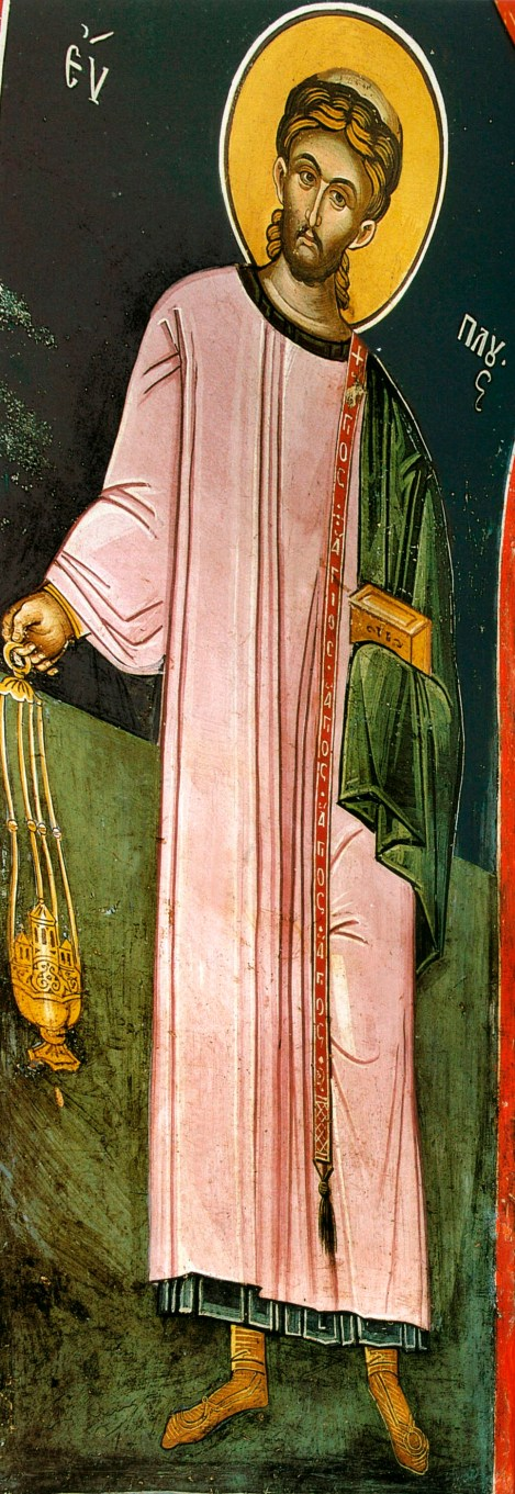 6. Sf Mare Mc Evplu, arhidiaconul din Catania, Italia (304) 9.1