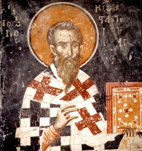 7. Sf Ier Gheorghe I, patriarhul Constantinopolului (683) 1.1