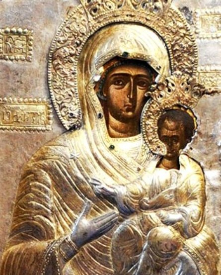 1. Icoana facatoare de minuni a Maicii Domnului din Manastirea Glavacioc 1.2