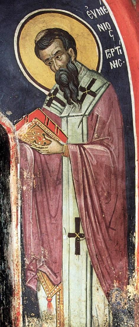 1. Sf Ier Eumenie, episcopul Gortinei din Creta (670) 3.1