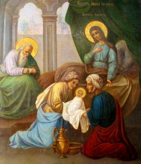 1. Zamislirea Sf Ioan Botezatorul 12.1