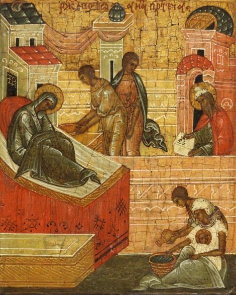 1. Zamislirea Sf Ioan Botezatorul 13.1 icoana din sec XV