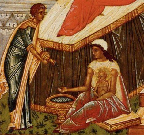 1. Zamislirea Sf Ioan Botezatorul 5.5 icoana din sec XV