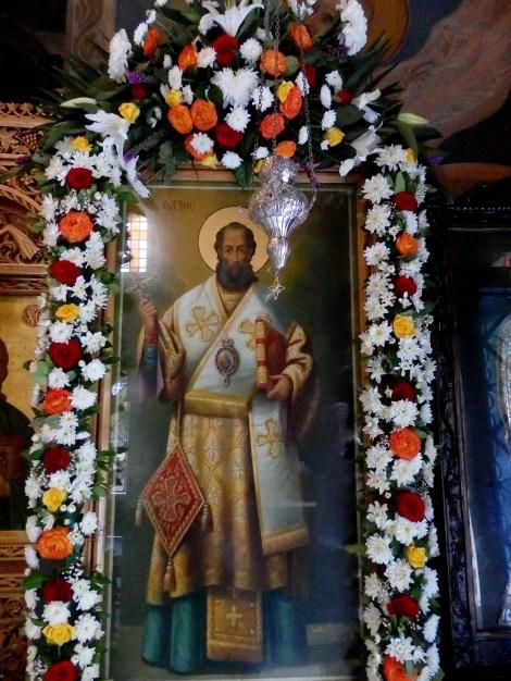 Sf Ier Visarion, episcopul Larisei, Grecia