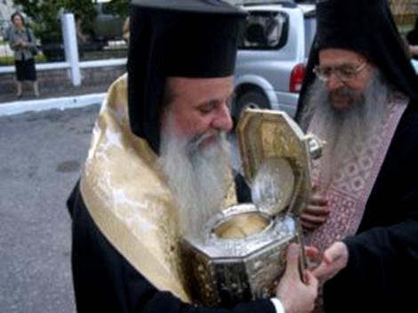 5. Sf Ier Visarion, arhiepiscopul Larisei, facator de minuni (sec XVI) 5