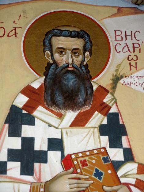 Sf Ier Visarion, arhiepiscopul Larisei, Grecia