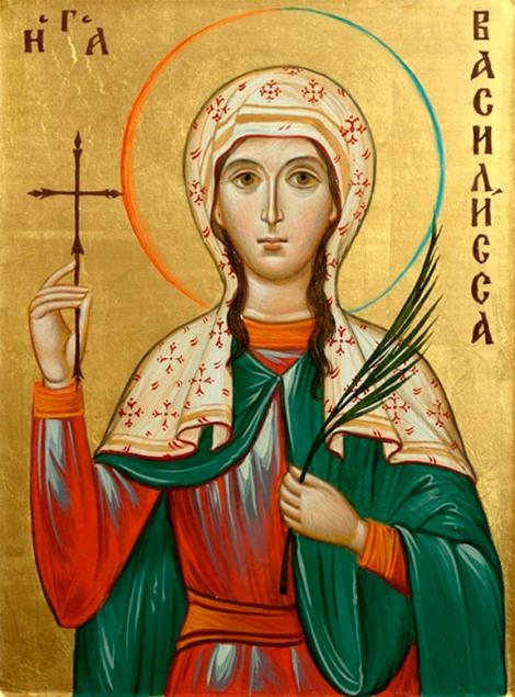 5. Sf Mc Vasilisa din Nicomidia (309) 2.1