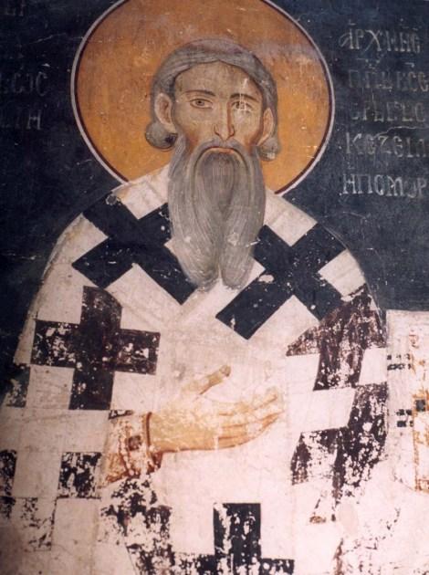 7. Sf Sava I, arhiep Serbiei (1236) 1.1