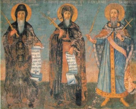 7. Sf Vladislav, rege al Serbiei (sec XIII) 16.1 Sf Stefan Nemania, Stefan primul rege al Serbiei si Vladislav