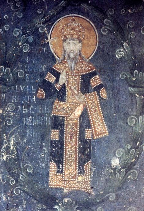 8 Sf Stefan, rege al Serbiei, numit Simeon in monahism (1228) 1.1