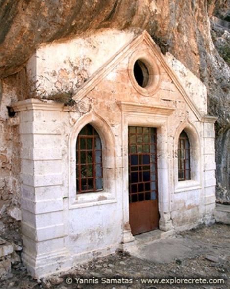 2. Sf Cuv Ioan pustnicul și cei 98 de pustnici împreună cu dânsul din Creta, Grecia 3