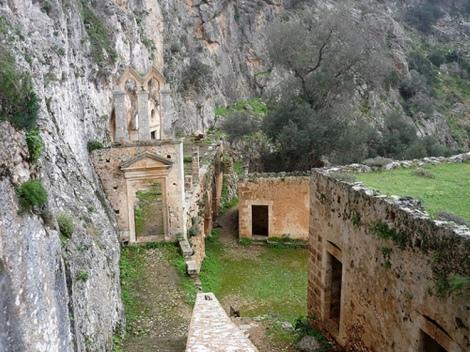 2. Sf Cuv Ioan pustnicul și cei 98 de pustnici împreună cu dânsul din Creta, Grecia 8